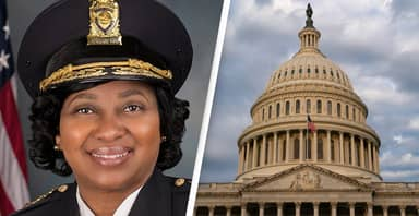 US Capitol Police Welcomes First Black And Female Chief In Its History