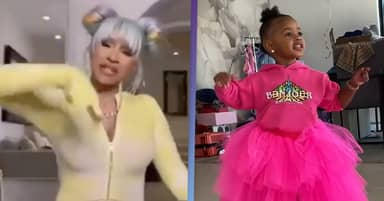 Cardi B Defends Decision Not To Let Daughter Kulture, 2, Listen To WAP