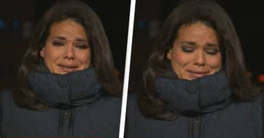 CNN Reporter Breaks Into Tears While Reporting On American Covid-19 Death Toll