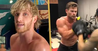 Logan Paul Wants To Fight Chris Hemsworth After Floyd Mayweather