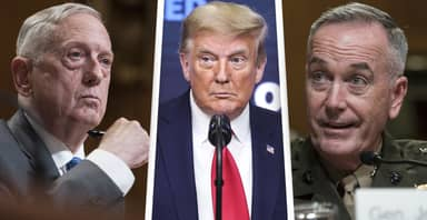 Trump's Former Military Leaders Condemn Him For Interfering With Peaceful Transfer Of Power