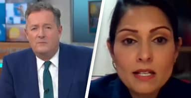 Priti Patel Squirms As Piers Morgan Slams Her Over UK COVID Death Rate