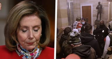 Nancy Pelosi Breaks Down Recalling How Staff Hid From Capitol Rioters