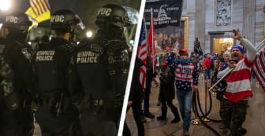 Off Duty Police And Military Members Being Investigated For Alleged Involvement In Capitol Riot
