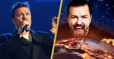 Ricky Gervais Turns Down Chance To Become First Stand-Up Comedian In Space
