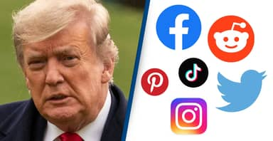 Trump Now Banned From Most Major Social Media Platforms