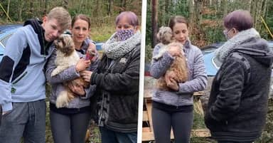 Woman Reunites With Dog She Thought Was Dead After Eight Years
