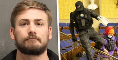 Rioter Known As Zip Tie Guy Arrested By FBI For Breaching Capitol