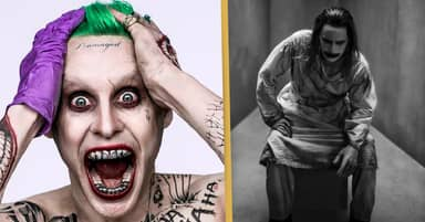 First Look At Jared Leto's Joker In Zack Snyder's Justice League