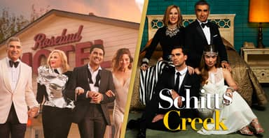 Schitt's Creek Wins Best Comedy Series At Golden Globes