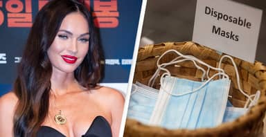 Megan Fox Responds To Fake Post Claiming She's An Anti-Masker