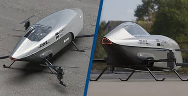 World's First Flying Race Car With 'Octocopter' Speeders Unveiled Ahead Of Flight This Year