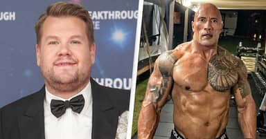 James Corden Wants To Be As Ripped As The Rock By 2022