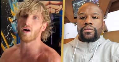 Logan Paul Announces Floyd Mayweather Fight Is Postponed