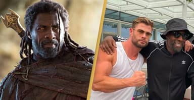 Idris Elba Attended Chris Hemsworth's Birthday And Now People Think He's In Thor 4