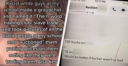 Students Of Colour 'Slave Traded' By Other Pupils In Racist Online School Game