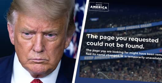 Trump's New Blog Shut Down Just Weeks After It Went Live