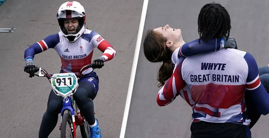 British BMX Athlete Screams 'I Can't Feel My Legs' After Winning Gold