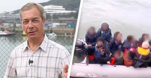 Nigel Farage's Migrant Criticism Backfires As Donations Fly In For RNLI