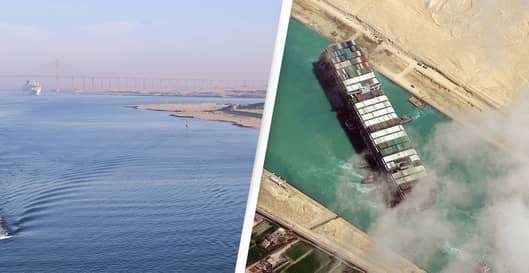 The Suez Canal Just Got Blocked Again