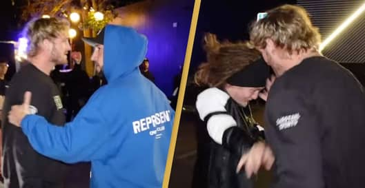 Logan Paul 'Attacks' Man After Being Called Sexist Name In Damning Footage