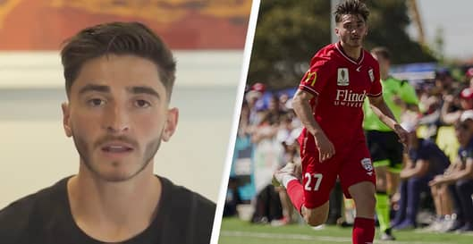 Professional Footballer Comes Out As Gay In Emotional Video After 'Fighting His Sexuality For Over Six Years'