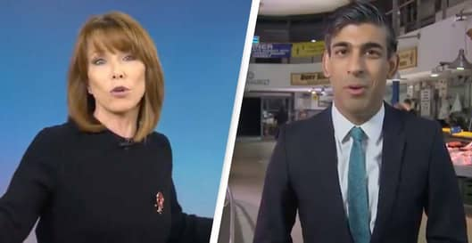 Rishi Sunak Asked If He Thinks He Pays Enough Tax In Awkward Live Interview