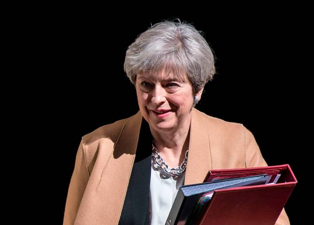theresa may prime minister of the united kingdom