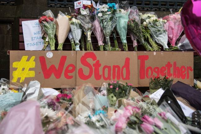 Manchester tribute for Arena bombing victims