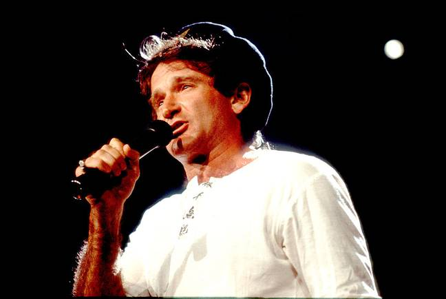 robin williams stand-up comedian