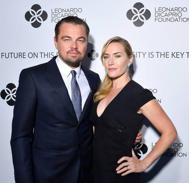 leo and kate on the red carpet