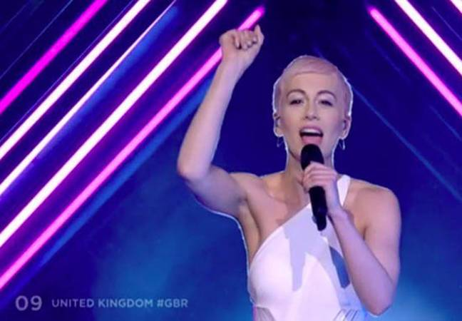 UK entry, SuRie, Eurovision Song Contest 2018