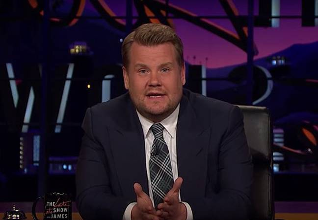 James Corden on The Late Late Show (CBS)