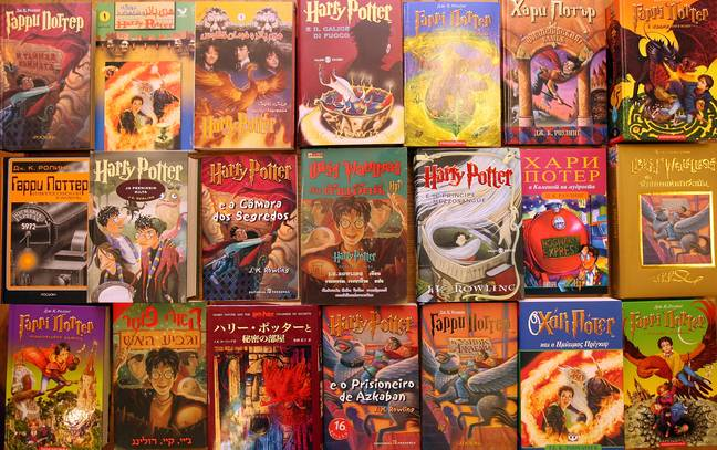 Translations of the Harry Potter books into 550 languages