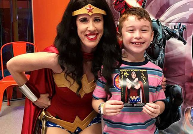Max and Wonder Woman