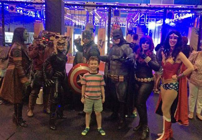 Superheroes with Max
