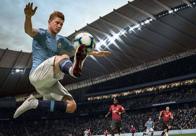 footage from FIFA 19