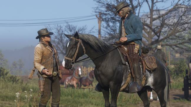 red dead redemption horse 2