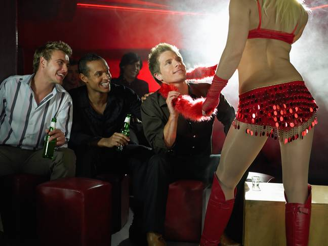 Guy's stag do stripper is his ex wife