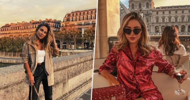 Instagrammer mocked for photoshopped pictures.