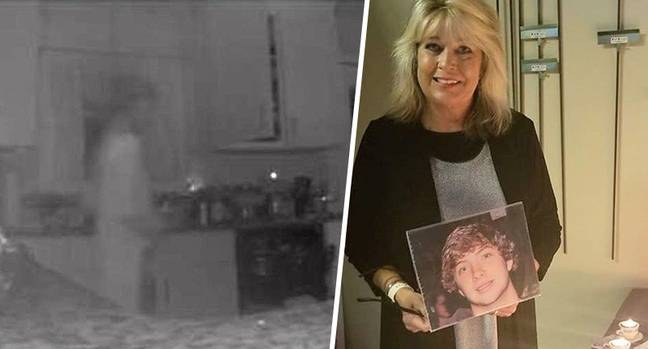 robbie hodges' mum claims son's ghost returned