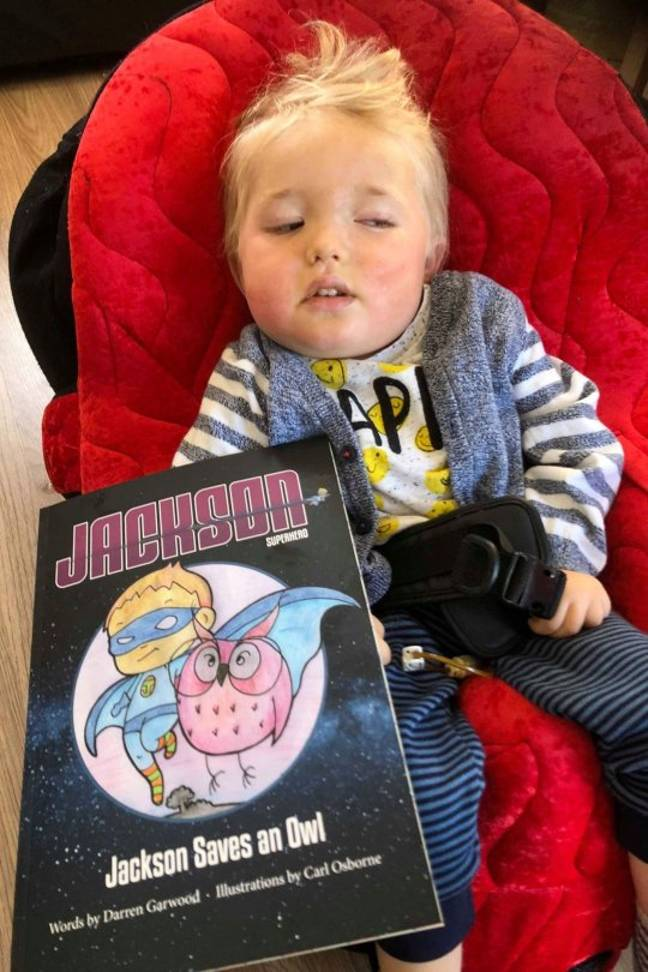 Dad Writes Book To Turn His Young Son Into Superhero Before He Dies