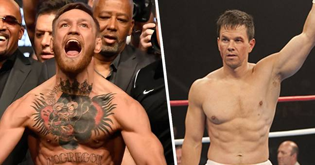 Conor McGregor challenges Mark Wahlberg to a fight