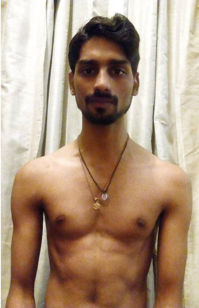 anurag, who was inspired by captain america, to transform himself