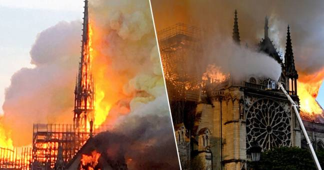 700 million euros donated to rebuilding the Notre Dame.
