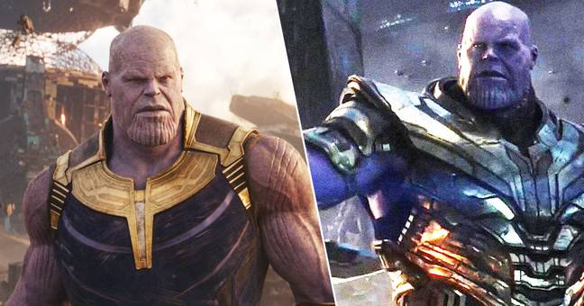thanos threatens to reduce earth to cinders in new avengers: endgame clip