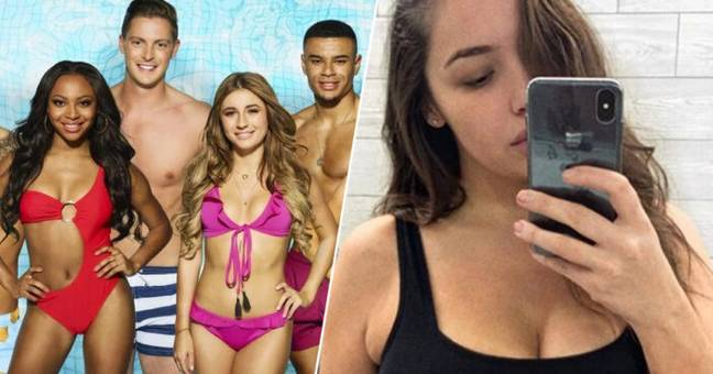 Plus size model joining Love Island.