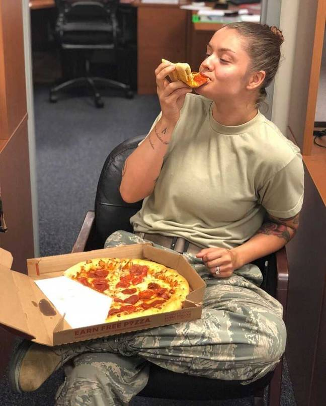 The Pizza Fit Girl, Aleen N Johnson