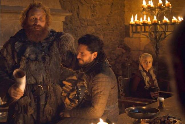 Starbucks cup in game of thrones