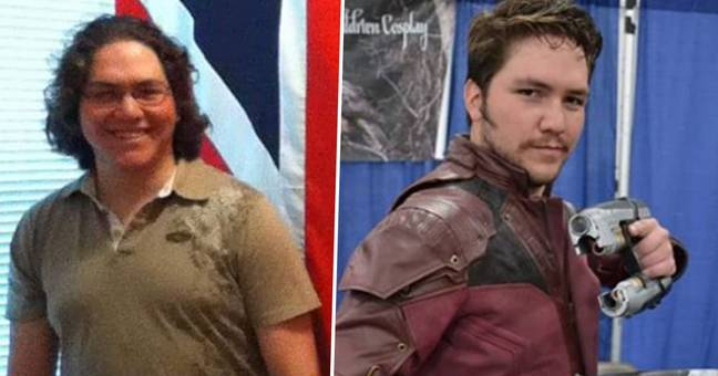 cosplayer transforms himself into guardians of the galaxy - star-lord Chris Pratt
